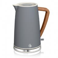Swan Nordicstyle Cordless Kettle Grey - 1.7L